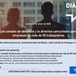 El 23 de Enero evento de «Dialogos de Compliance ASCOM» en BILBAO